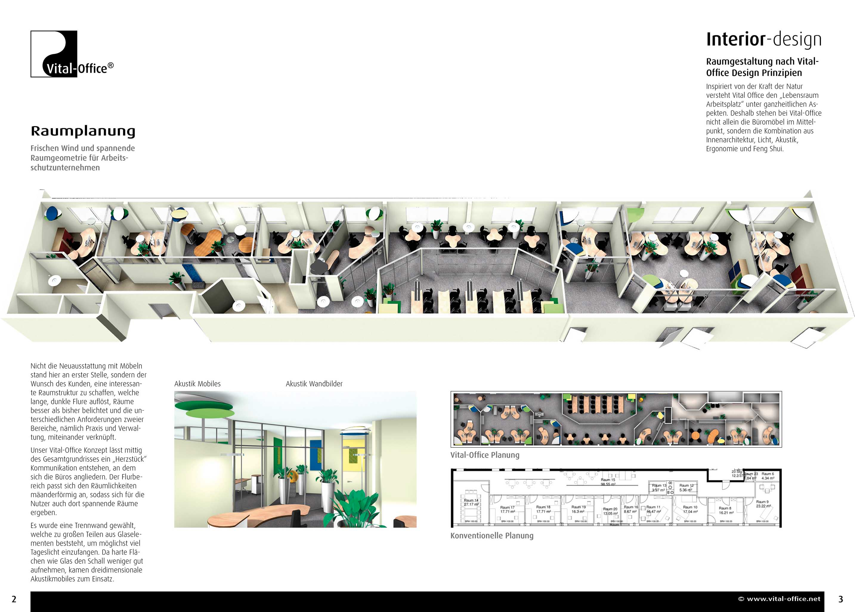 Creating workspaces project management interior design for Raumgestaltung und design