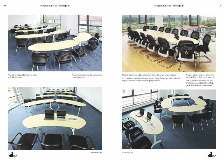 Conference tables...
