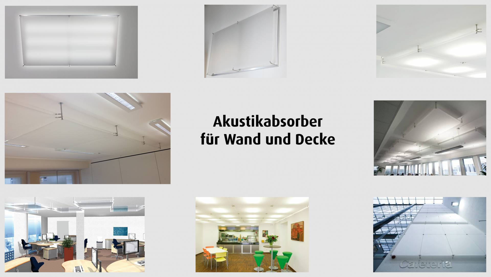 vitAcoustic - Acoustic absorbers for wall and ceiling - Vital-Office