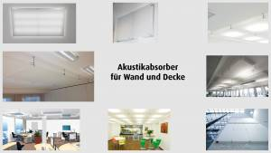 vitAcoustic - Acoustic absorbers for wall and ceiling