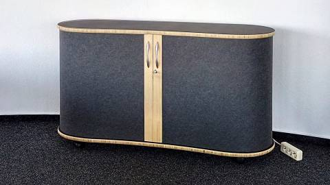 vitAcoustic Qiboard with sound absorbtion