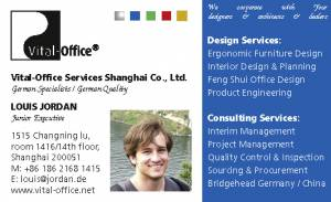 Feng Shui Fortune and Business Excellence at the Workplace - Shanghai 26th+28th Mai 2015