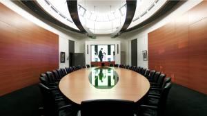 circon s-class 12m Boardroom table for Oval Office Hamburg