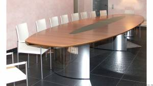 circon s-class - 6x2m - The conference table bestseller: Elegant lightness and functionality at a good price