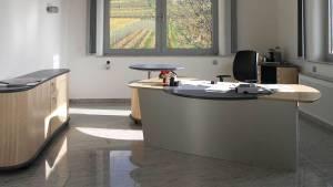 circon executive command - executive desk - Maple and Silver