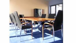 circon s-class - 2.6x1.2m - Square conference table