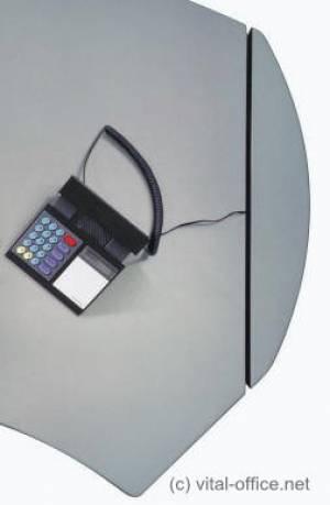 circon executive classic - Executive Desk - Comfortable hidden cabling from floor to desk top.