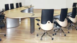 flexiconference for exclusive training rooms with media and power outlets.