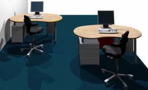 desks - infinity design e-style - Space saving workstations
