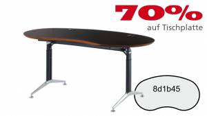 Verkauft: Schreibtisch 8d1b45 in Makasar Dekor 1686x897mm