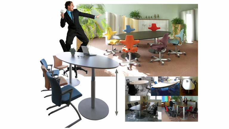 Displaying Items By Tag Variconference VitalOffice - Stand up conference table