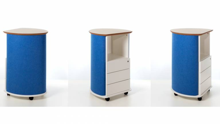 vitAcoustic Caddy and Pedestal