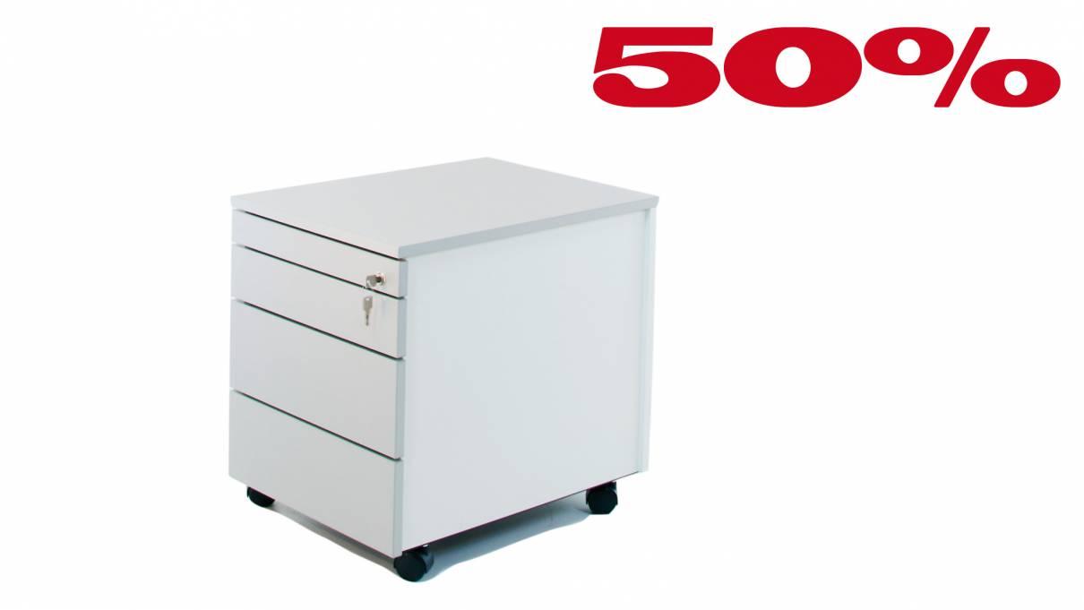 Container IBcr1233 456x600x555mm Alu/grauweiß