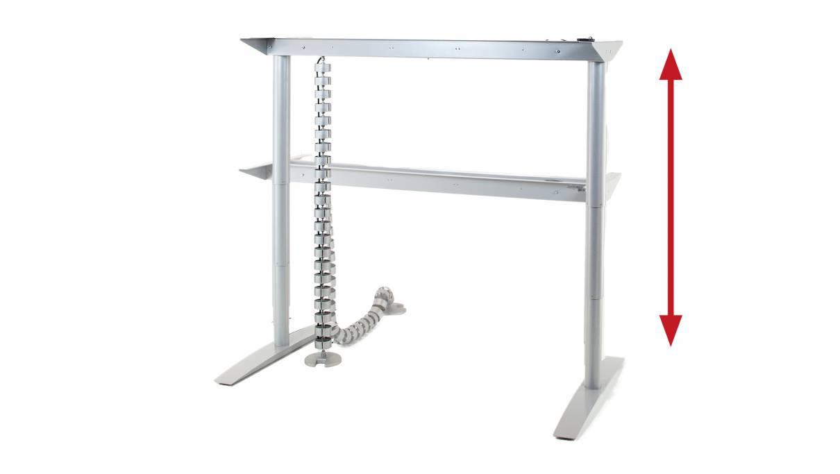 Vital-Office Höhenverstellbare Steh- Sitz Tisch Technik