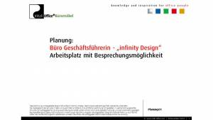 Büroplanung Geschäftsführerin Softwarehaus Karlsruhe