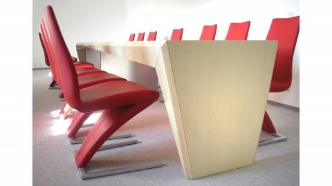 circon face conference table