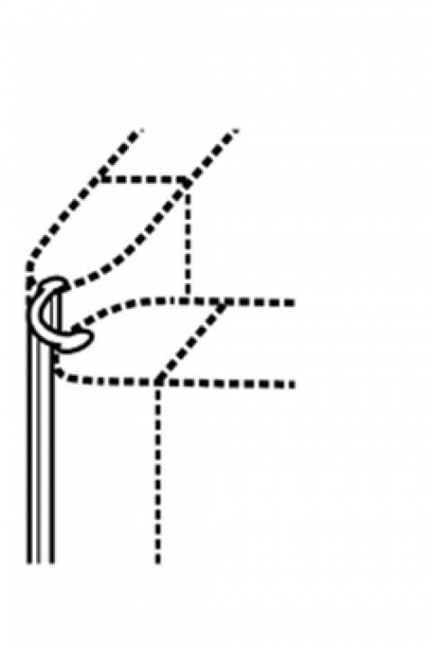 Zubehör - Scharnier 2-fach