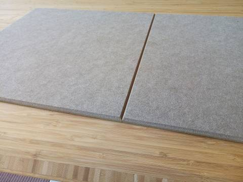 VitAcoustic cut to size sheets (for craftsmen) - Premium PET