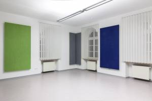 vitAcoustic colored and highly absorbent broadband wall absorbers