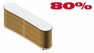 Qiboard 2OH QIB-2-021 in Dekor 2150x467x768mm