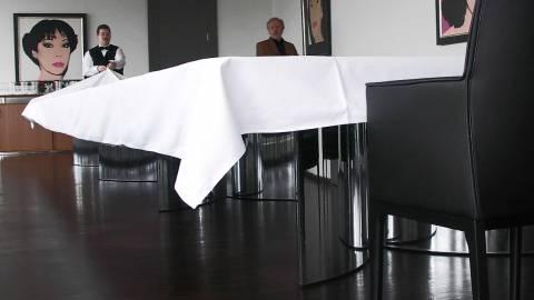 circon s-class - 9x2m - Square conference table for Aspecta, Hamburg