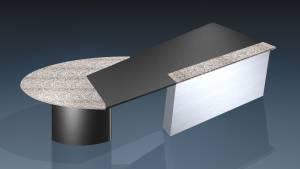 circon executive jet - executive desk - Design Natural Stone