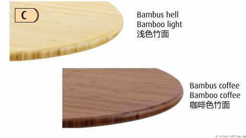 flexiconference - Produkte - Tischplatten und Farben