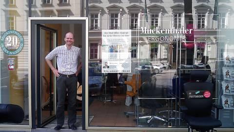 11.10.2008 - Vortrag in München bei Ergonomie Studio Muckenthaler, Pacellistr. 5, 80333 München