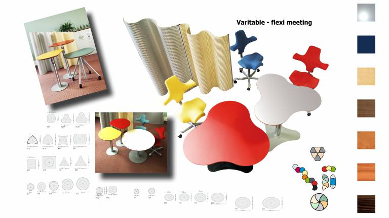 Varitable - flexible meeting