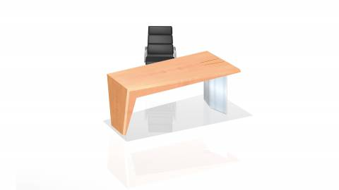 Face - circon face desk base unit with leg