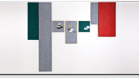 Vital-Office Acoustics: sound-absorbing tapes and area curtains
