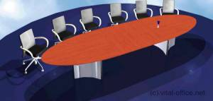 circon s-class - Extendable meeting table
