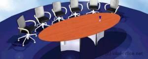 circon s-class - Extendable meeting table