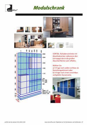 Preisliste 2019 vitAcoustic Office - Bambus Büro - Feng Shui Büro