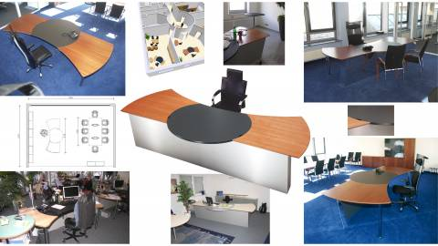 Circon Command executive desk Sovereign Workplace Design