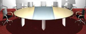 circon s-class - Individual variations for conference tables through 3 top segments