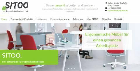 D91052 - SITOO - Handel mit ergonomischen Möbeln