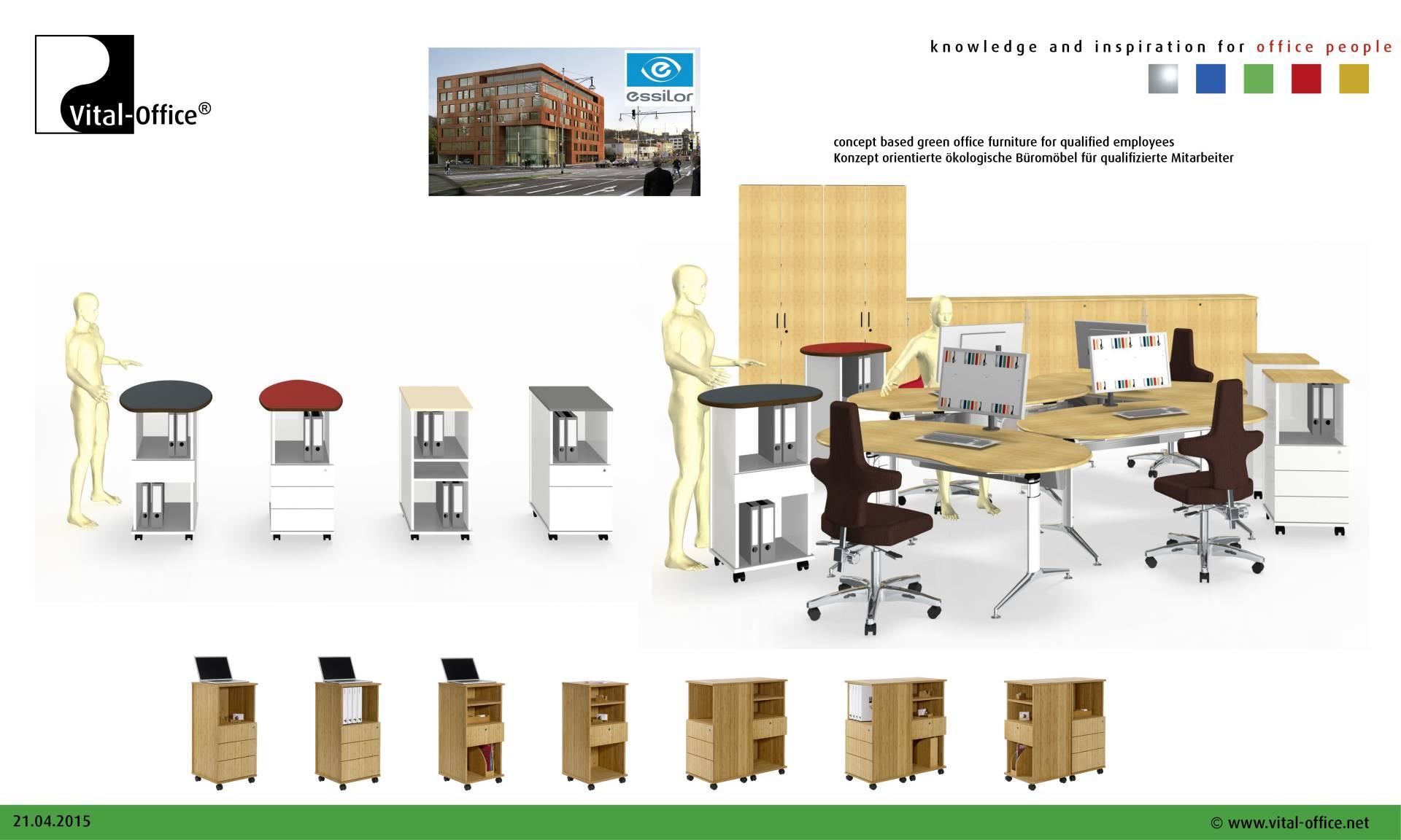 Büroplanung - Repräsentatives Großprojekt in Freiburg - Vital-Office