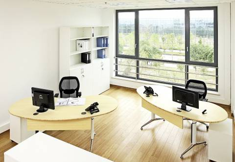 Kärcher Changshu - Ergonomic Green Bamboo Office