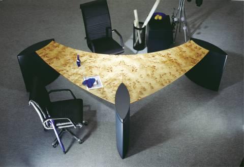 circon executive wing - executive desk - Special veneers