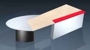 circon executive jet - executive desk -Design Ambience Aluminum