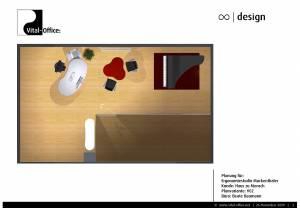Planung für Ergonomiestudio Muckenthaler - Kunde: Haus zu Mensch