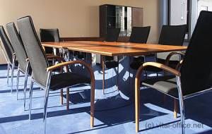circon s-class - 3x1m - Solid Elegance for discussion with plenty of room for hi-tech und cable.