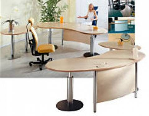 desks - infinity design - An all around, flexible and expandable workstation concept.