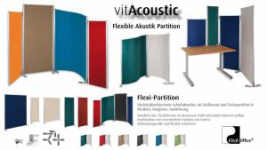 VitAcoustic-Sound absorber in aluminium profile