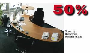 Cheftisch classic in Echtholz 3350x1950mm (verkauft)