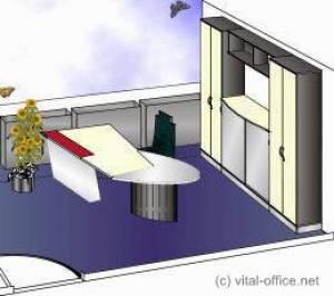 circon executive jet - executive desk - Professional space planning