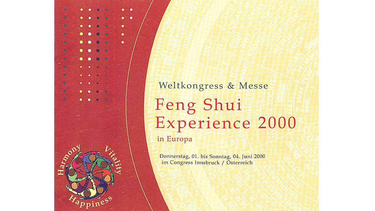 01. - 04.06.2000 - Feng Shui World Congress Innsbruck