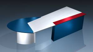 circon executive jet - executive desk - Design Pop Art