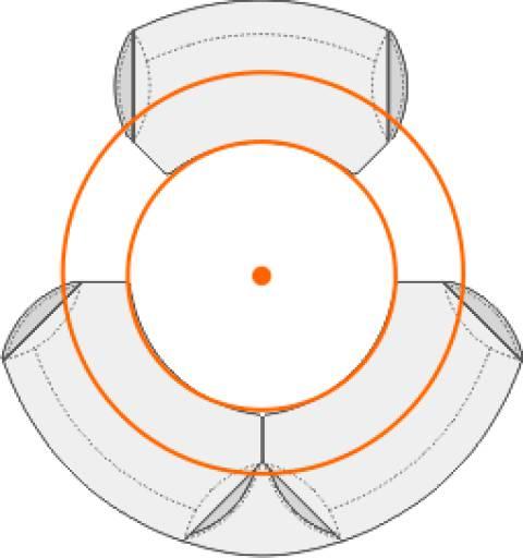 circon executive classic - Anthropometric table tops are circular